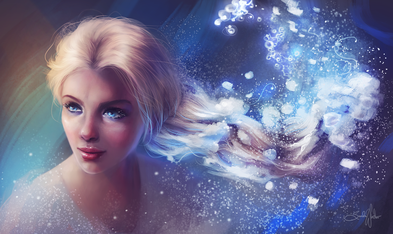 Elsa by Sandramalie