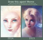 Draw again meme