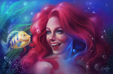 Ariel by SandraWinther