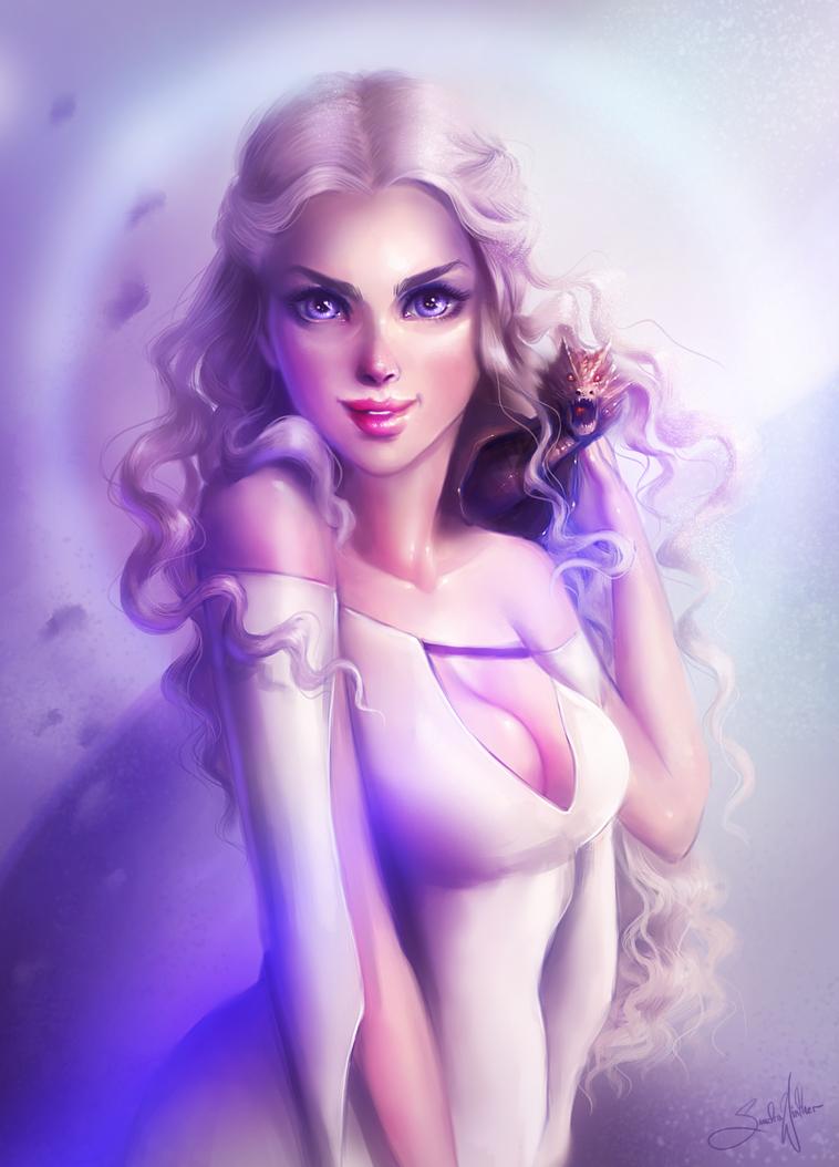 Daenerys Targaryen by Sandramalie