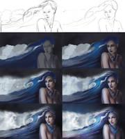 Progress - My Ocean by SandraWinther