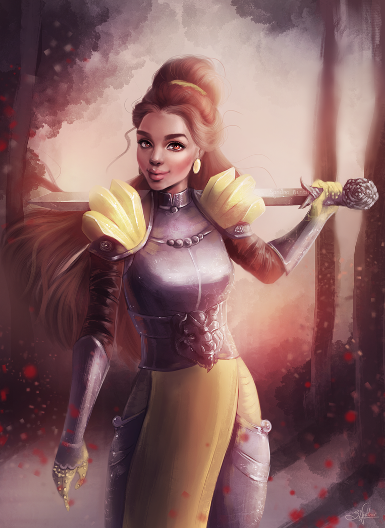 Warrior Belle by Sandramalie