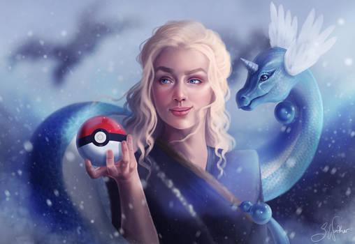 Mother of Dragons - Daenerys and Dragonair