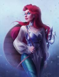 Warrior Ariel by SandraWinther