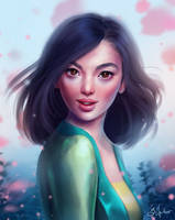 Mulan by SandraWinther