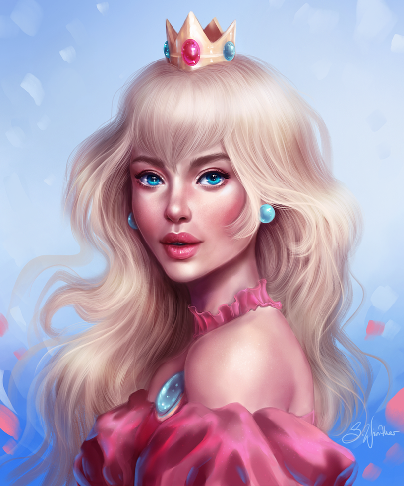 Peach by SandraWinther