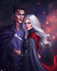 Dorian and Manon by SandraWinther