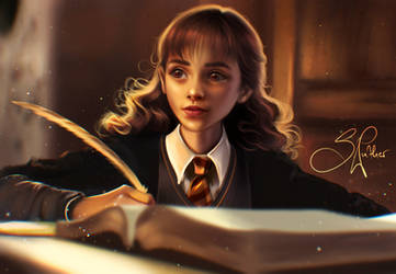 Hermione Granger by SandraWinther