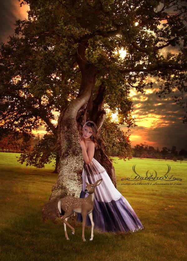 the fantasy tree by darkart84