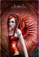 cyber angel by darkart84