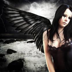 the fallen angel by darkart84