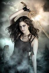 woman warrior by darkart84