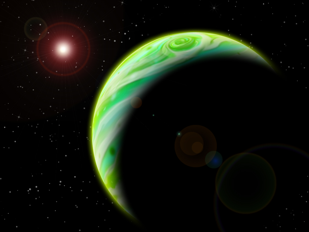 Gaseous Planet by Picolini on DeviantArt