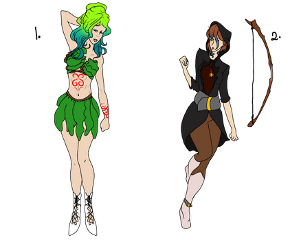 Floral and Archer adopt -Open- (1/2)