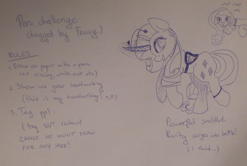 Pen Challenge by StarLilly08