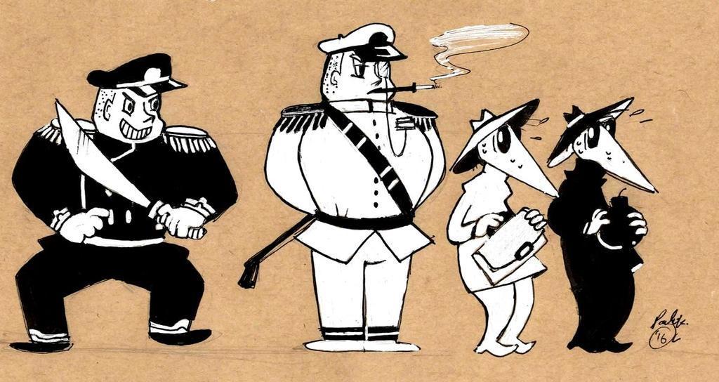 Spy vs Spy by madamluna