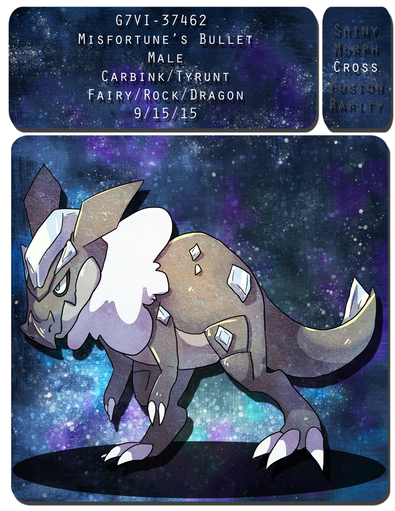 PKMNation: Misfortune's Bullet by WolvesWithoutTeeth
