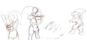 Link n weapons by dcrisisbeta