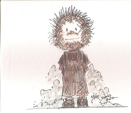 Pigpen sketch