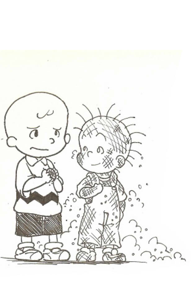 Charlie brown and pig pen by dcrisisbeta on deviantart