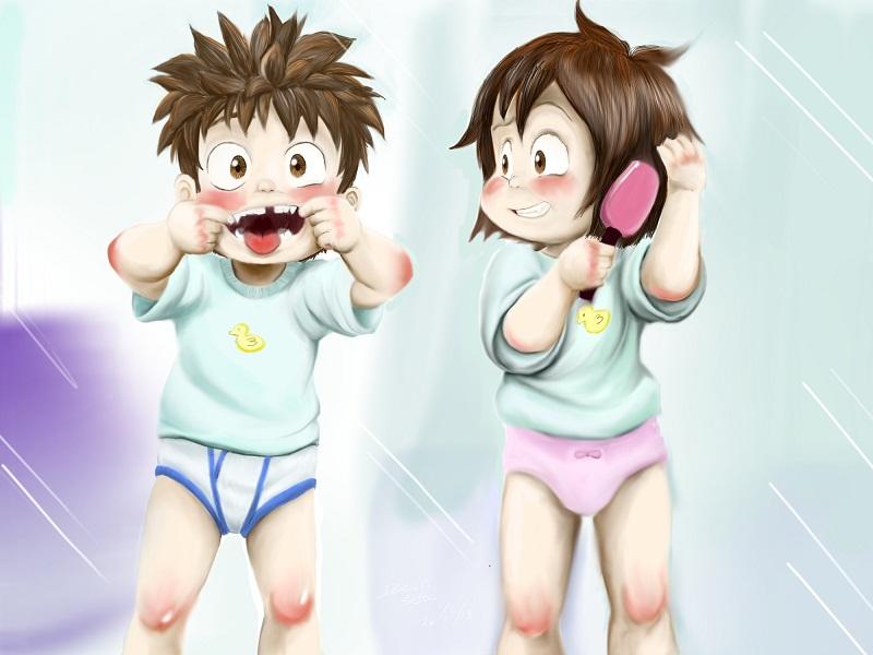 Twins! by dcrisisbeta