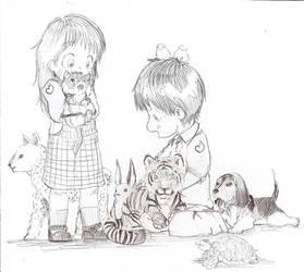 Animal Kingdom Kids by dcrisisbeta
