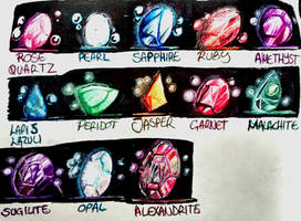 Steven Universe Gemstone fanart test by dcrisisbeta