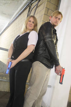 Resident Evil 6 Leon and Helena