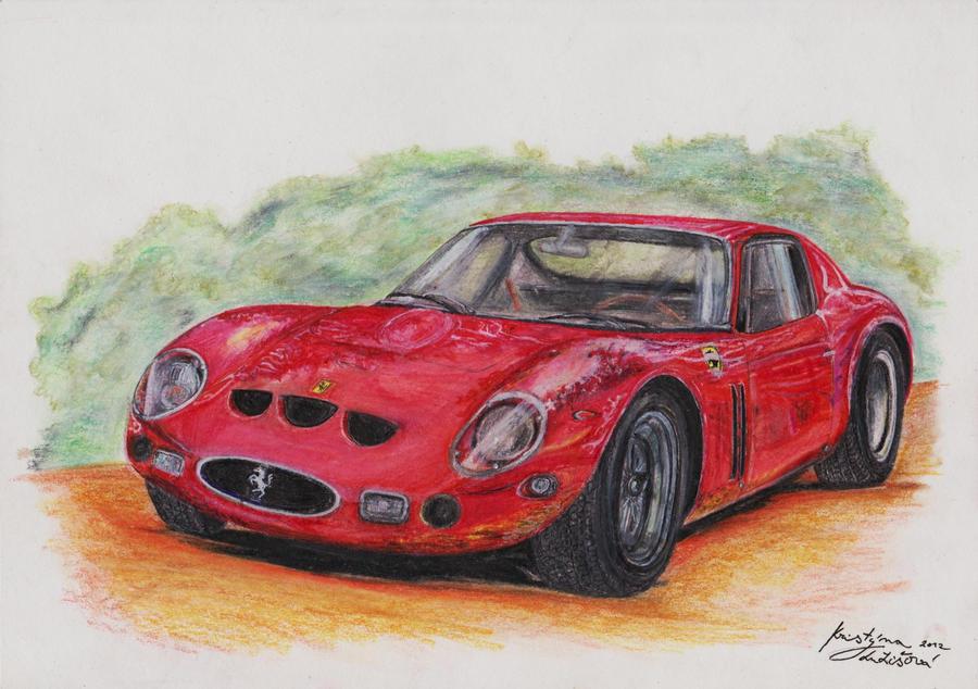 Ferrari 250 GTO by kutiska