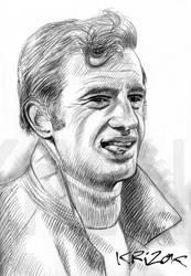 Jean-Paul Belmondo by krizok