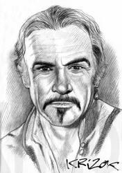 Goodbye Sean Connery by krizok