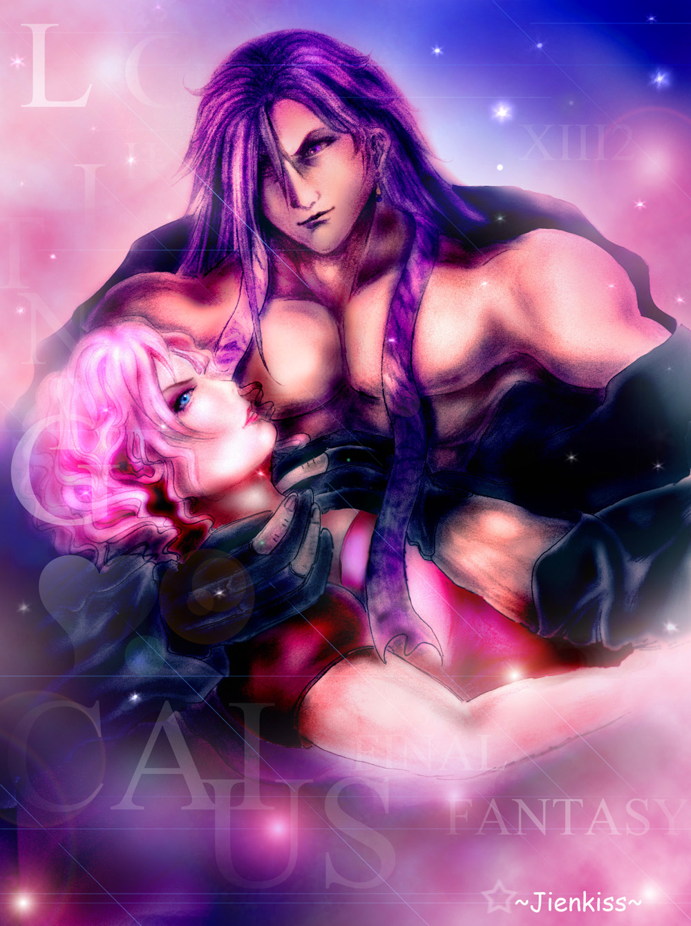 Caius x Lightning by cheapartpieces