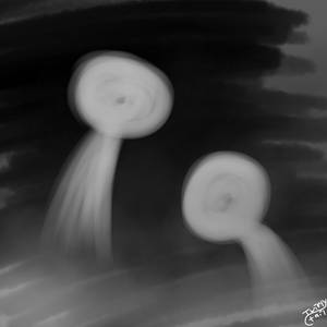 Doodle (4) Ghoasties I guess