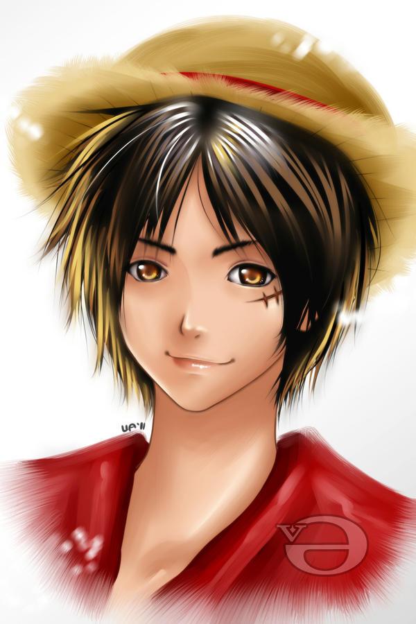 Luffy by enjelia