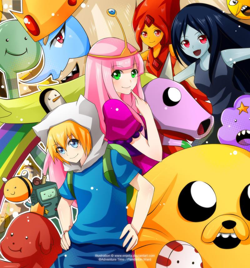 C: Adventure Time by enjelia on DeviantArt