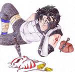 Resting ANBU - 'Naruto'