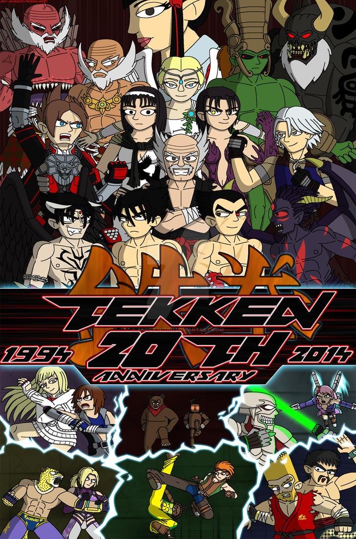 Tekken 20th Anniversary by Angus-Nitro