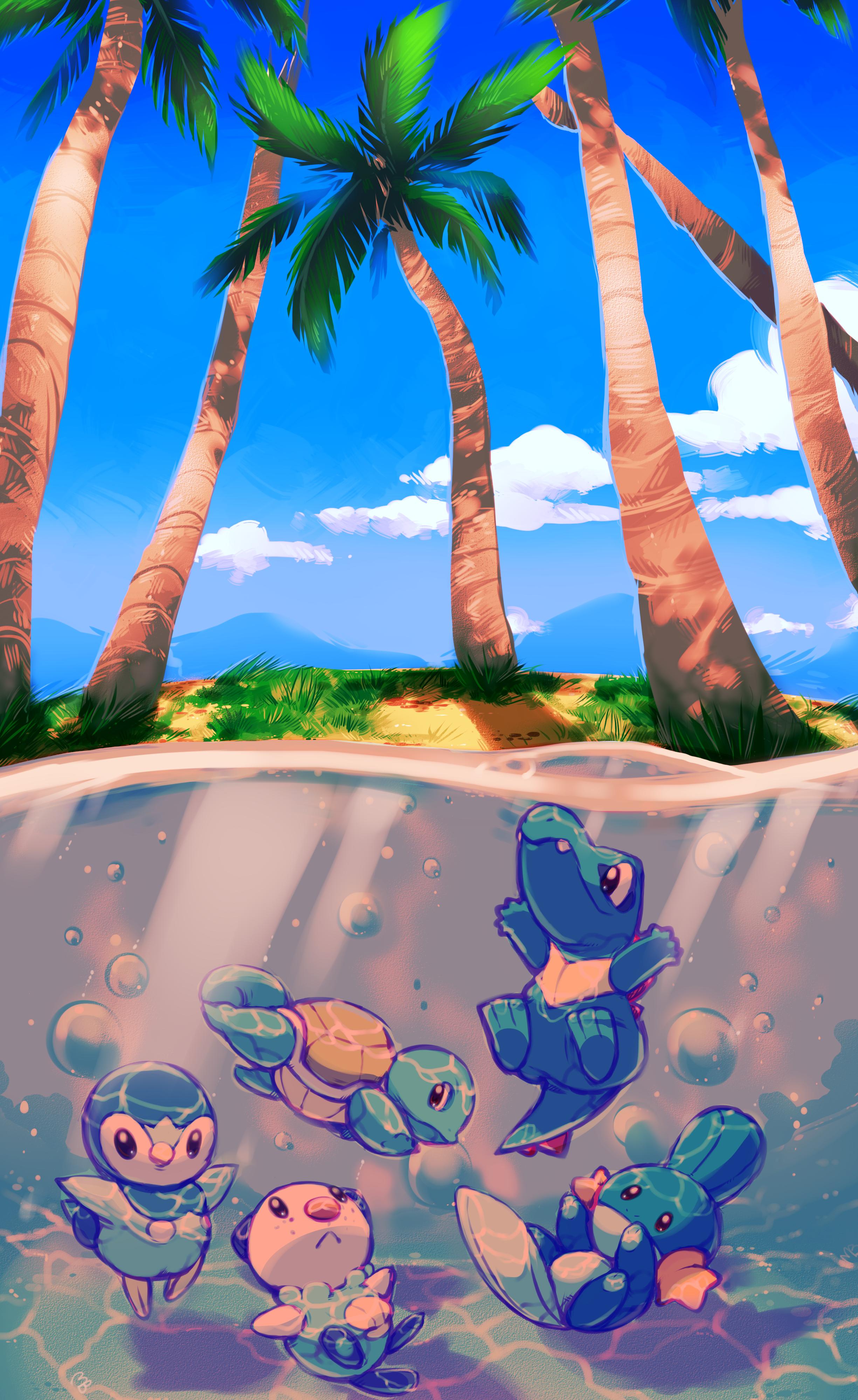 Ombrelle sur la Mer