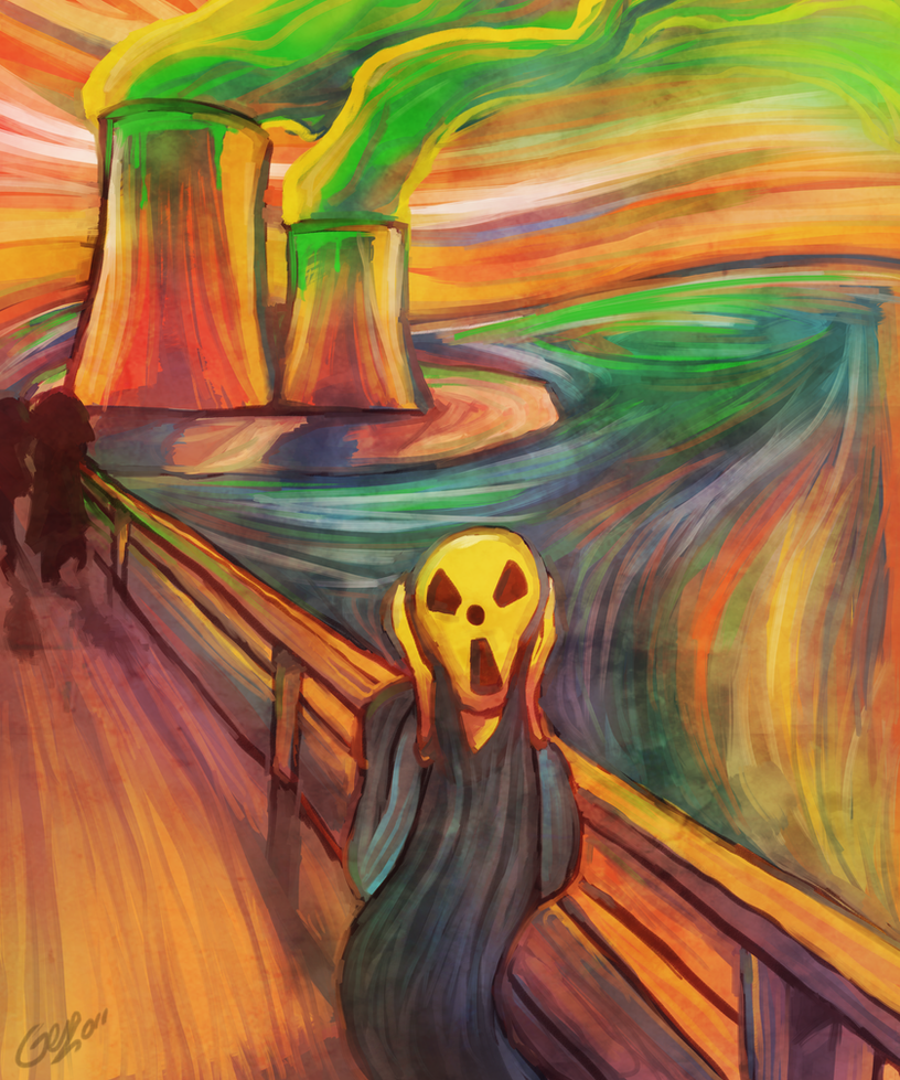 Fear s Energy  quot Scream Parody quot  by MBLOCKThe Scream Edvard Munch Parody