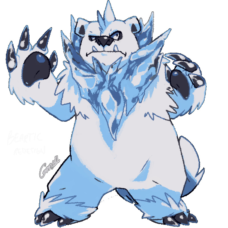 Beartic Redesign by MBLOCK on DeviantArt