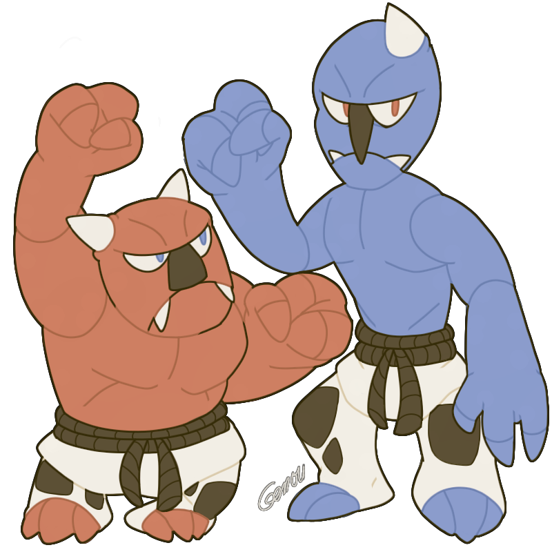 Prototype Of Sawk And Throh By Mblock On Deviantart