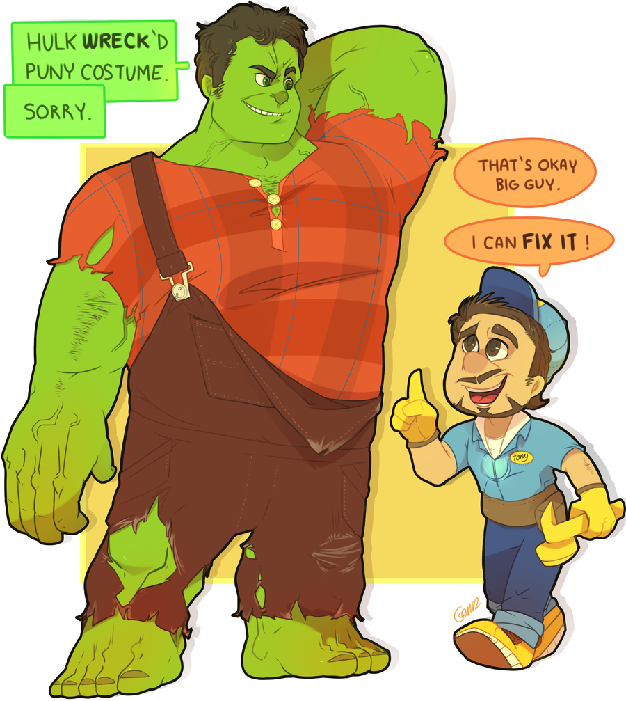 Wreck-it Hulk by MBLOCK