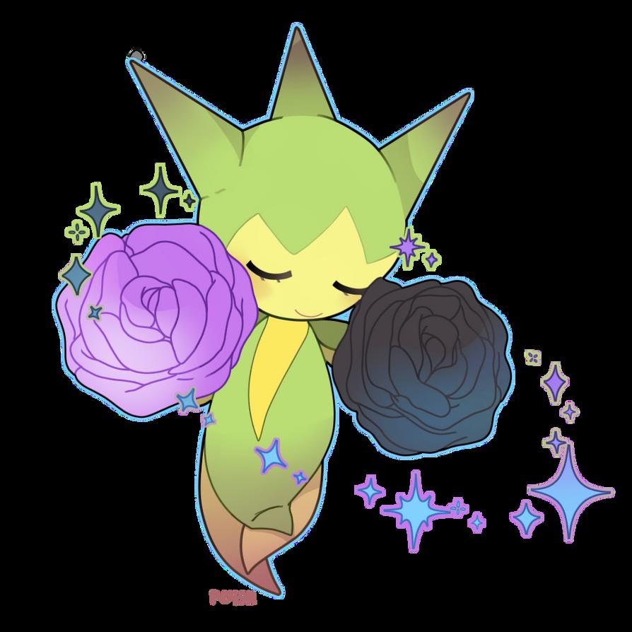 Renders Pokemons 03 Parfum_de_rose_by_mblock-d6i8kto