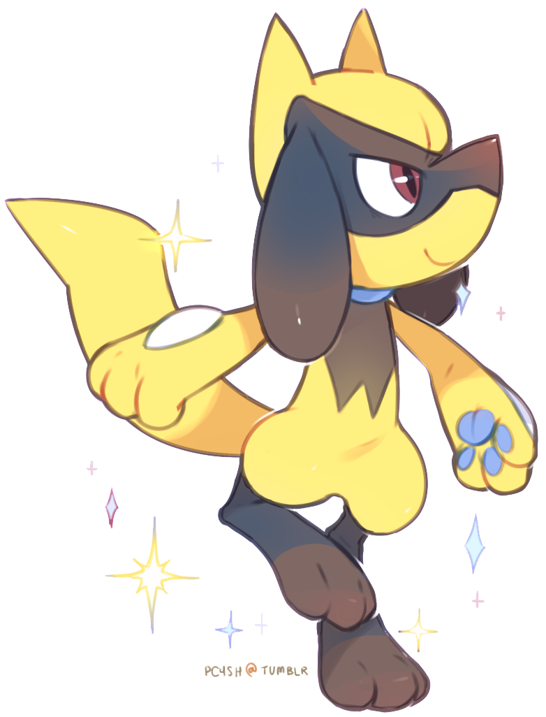 shiny riolu by MBLOCK on DeviantArt