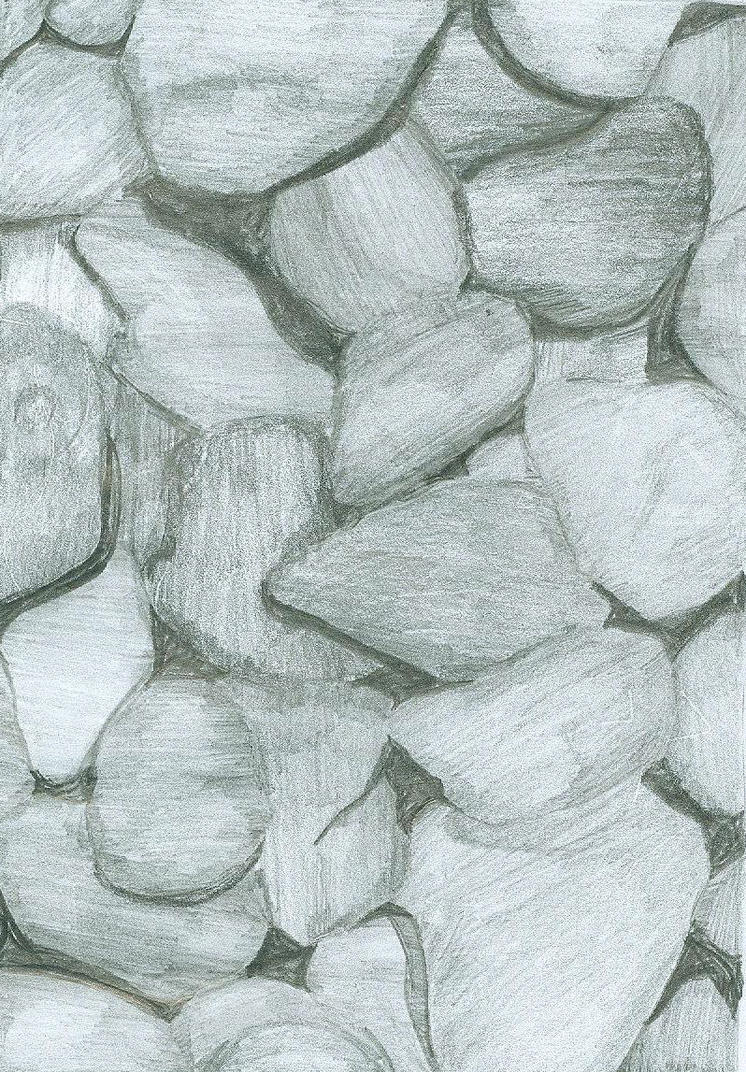pebble drawing by danahatesbananas on deviantart