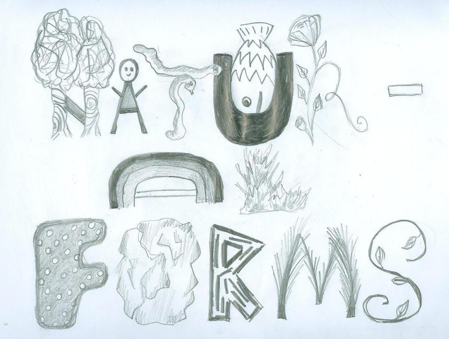 Line Drawing Natural Forms : Natural forms by danahatesbananas on deviantart