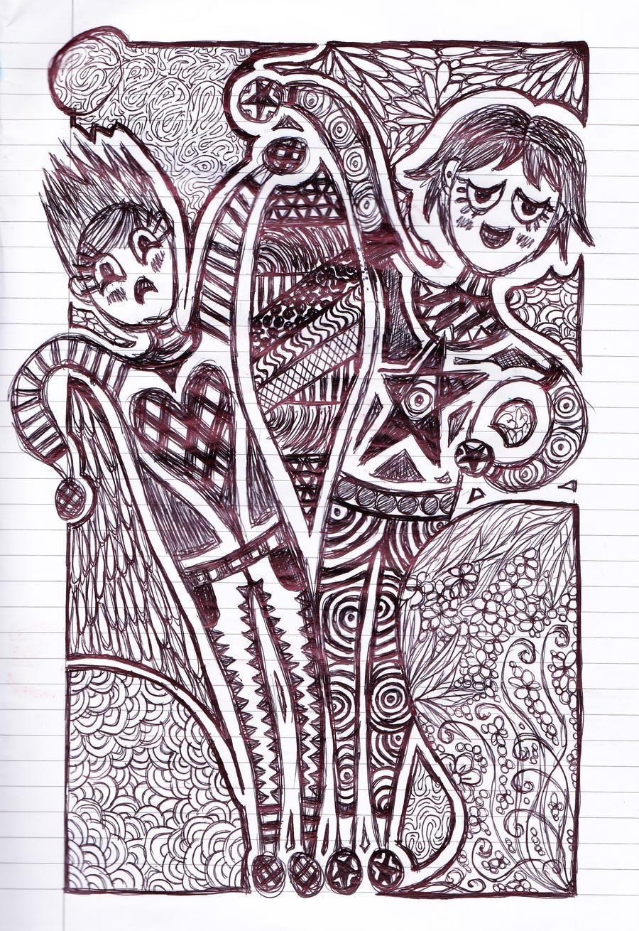 Hearts And Stars Drawings Hearts and stars drawings.