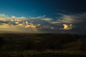 Sunset over the Levels 3 by SomersetCider