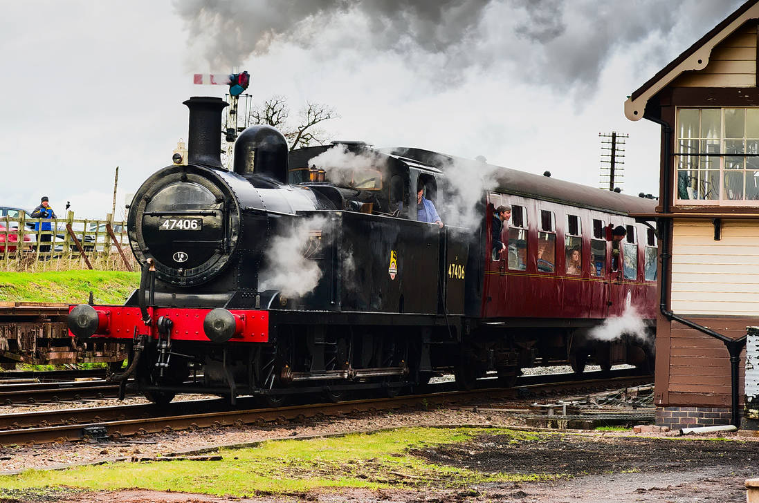 Great Central Railway Winter Steam Gala 4 by SomersetCider