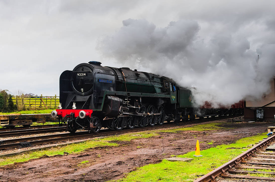 Great Central Railway Winter Steam Gala 5 by SomersetCider